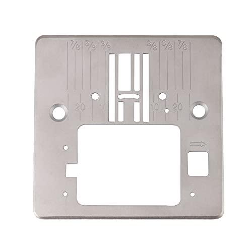 BQLZR Plata de la placa de la garganta del Pin del romo de los accesorios de la máquina
