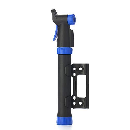 qianber Mini bomba de bicicleta portátil manual de la bola de bicicleta bidireccional de la bomba del ciclo de la bomba de