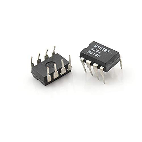 Davitu Terminals - 2PCS IC DIP-8 MSGEQ7 MSGEQ7 Band Graphic Equalizer