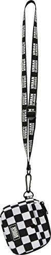 Urban Classics Mini Festival Bag Borsa a tracolla, 13 cm, Black/White (Multicolore) - TB2548