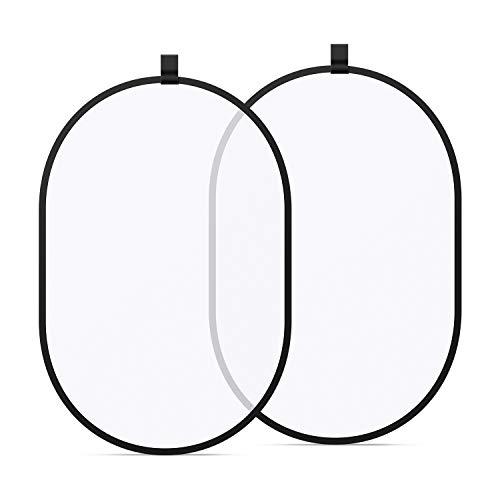 Neewer Fotografie Studio Beleuchtung Reflektor Pop-out Faltbare Soft Diffusor Scheibe Panel mit Tragetasche für Studio und Outdoor Portrait, Produktfotografie, Video-Aufnahme (100x150 Zentimeter)