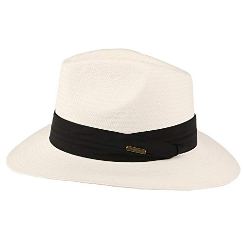 Léon montane Chapeau de Paille Blanc Théo - Mixte