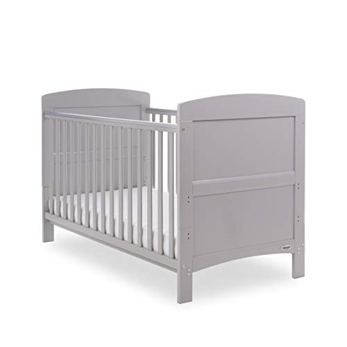 Obaby Grace Cot Bed, Warm Grey