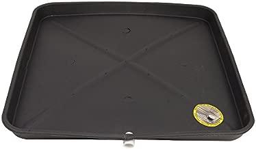 DiversiTech 6-3030L A/C Secondary Condensate Drain Pan, Outlet Long Side, Bottom 30
