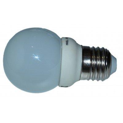 Maxell 4W, E27, 4200K 4W E27 A Blanco frío - Lámpara LED (E27, 4200K, Blanco frío, Plata, Color blanco, A, 180 V, 50/60)