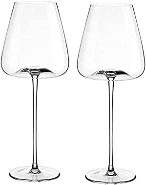 Reliable Goblets Wine Glass Set of 2 Premium Crystal Wine Cup Clear Red Wine Glass Modern Red Wine Gift Set Exquisite Wine Gl