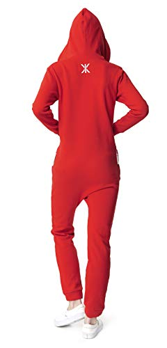 OnePiece Damen Jumpsuit Unisex Original 2.0, Rot (Red) - 2