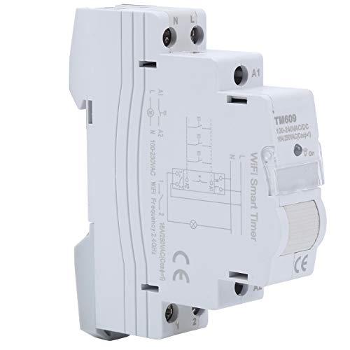Wifi Smart Timer, plast trådlös fjärrkontroll Smart Timer, med minnesfunktion WiFi Smart Timer Home Homekit DIY för industri