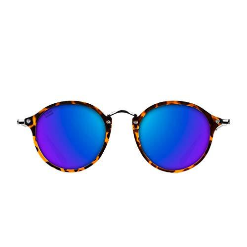 D. Franklin Roller TR90 Gafas de sol, Carey, 48 Unisex