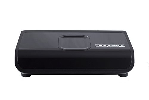 Digiquest DGQ800 HD - Decoder digitale terrestre con funzione di videoregistratore, Nero