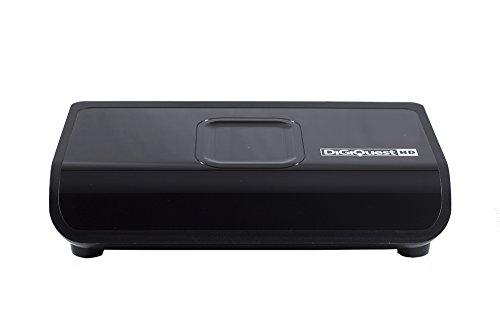 Digiquest DGQ800 HD - Decoder digitale terrestre con funzione di videoregistratore, Nero