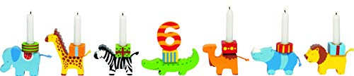 cama24com Geburtstagszug Tierkarawane von goki Kindergeburtstag Dekoration mit Palandi® Sticker