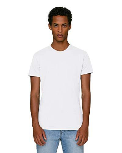 Hoogwaardig nauwsluitend heren T-shirt/slim fit/van 100% biologisch katoen. Is uitstekend geschikt om te bedrukken. (bijvoorbeeld: met transferfolie/textielfolie).