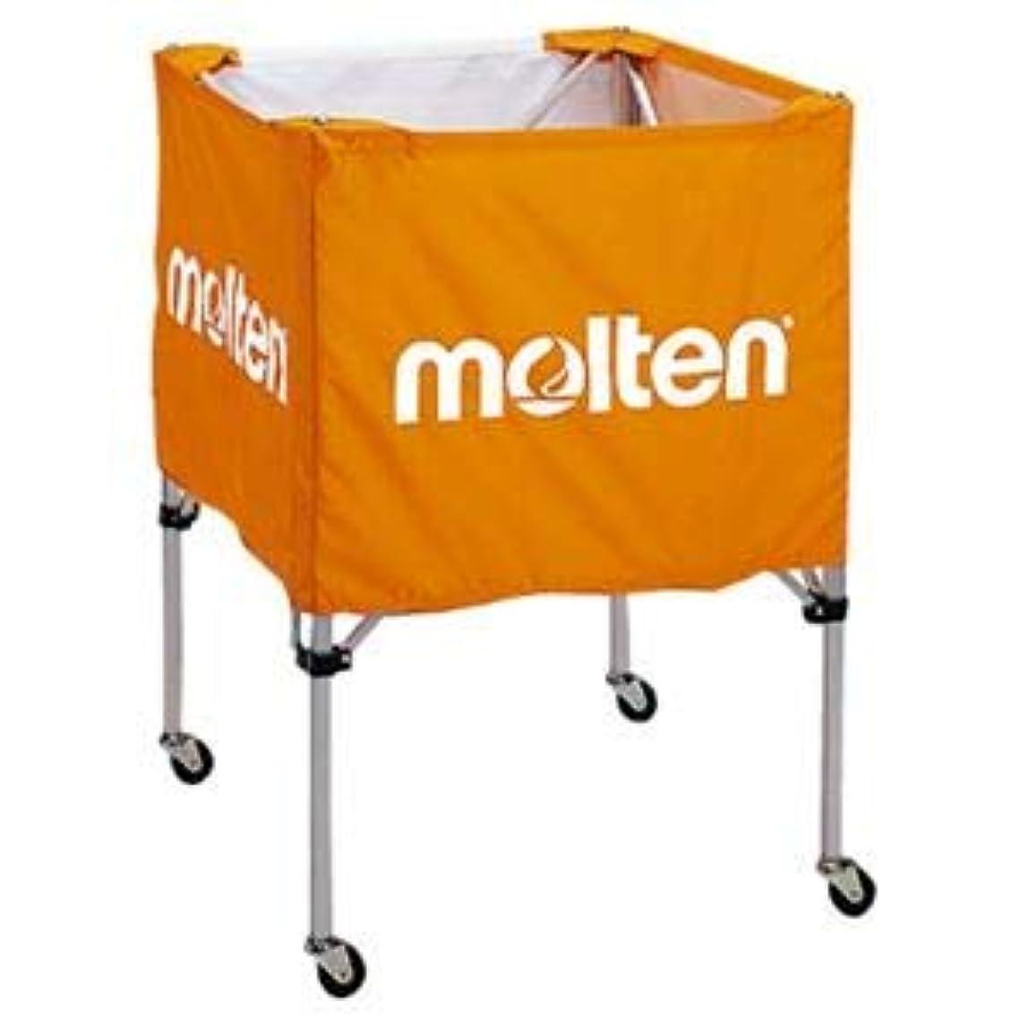 哲学博士辞任するキャプテンブライモルテン(Molten) 折りたたみ式ボールカゴ(中?背低) オレンジ BK20HLO