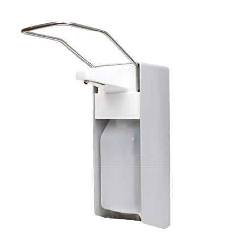 """Wandspender \""""premium line\"""" aus Aluminium Ausführung 500ml, inkl. Edelstahlpumpe, Universalspender, Seifen- und Desinfektionsspender der Firma Vitamed Matthias Quinger e.K. (1)"""