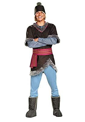 Frozen Kristoff Deluxe Adult Costume X-Large from Disguise Costumes
