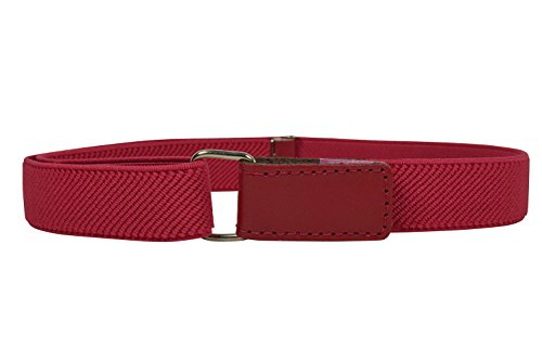 Olata Cinturón Elástico para los Niños/Niñas 1-15 Años con Hook y Loop Fijación