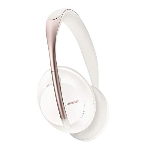 Bose Noise Cancelling Wireless Bluetooth Headphones 700, with Alexa Voice Control, Arctic White