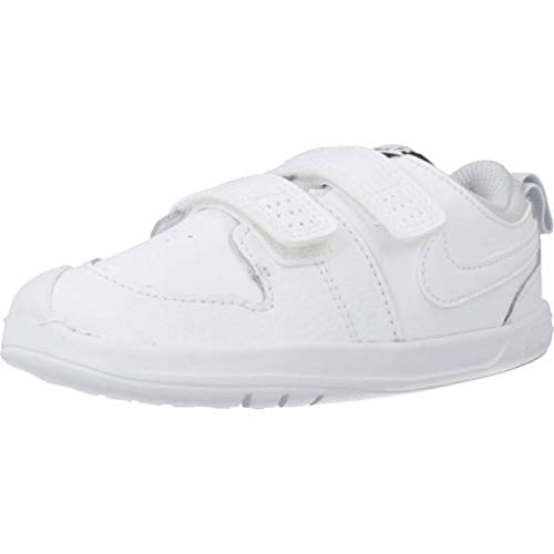 Nike Pico 5 (TDV), Scarpe da Ginnastica Unisex-Bambini, White/White-Pure Platinum, 21