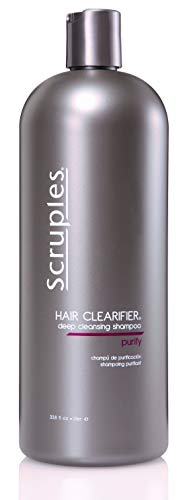 Price comparison product image Scruples Hair Clearifier Deep Cleansing Shampoo (33.8 Ounce) Perfect Clarifying Shampoo for Clearing Product Buildup & Residue - Ideal for Oily Hair - For Men & Women (Pack of 1)