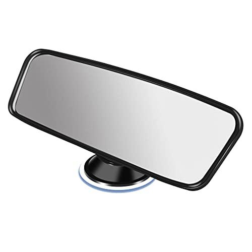 Auto Rückspiegel Universal Innenspiegel mit Saugnapf,Saugnapf Spiegel für Auto,Starke Adsorption