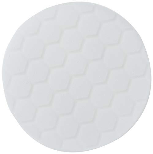 Chemical Guys BUFX_104_HEX5 Hex-Logic Light-Medium Polishing Pad, White, 5.5' Pad Made for 5'...