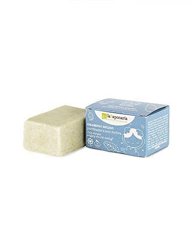 Shampoo solido Purificante e anti-forfora La Saponaria panetto solido 50 g