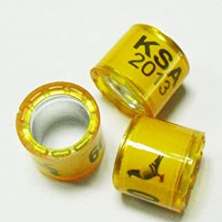 50pcs8mm Customized Bands for Racing Pigeon Ring Birds Leg with Name Telephone