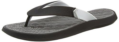 Lunar R1 Plus II, Zapatos Playa Piscina Hombre, Negro