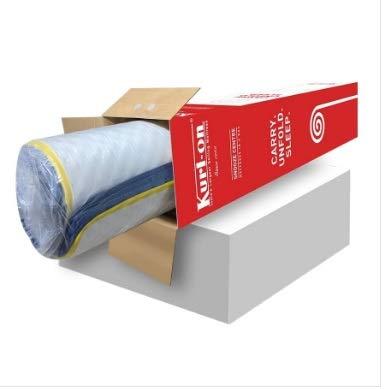 Kurl-On Sleep Station Foam Firm Mattress in a Box (75x36x6 Inches)