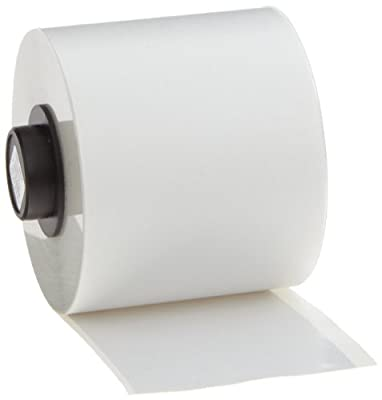 """Brady High Adhesion Vinyl Label Tape (142271) - White Vinyl Film - Compatible with BMP71 and HandiMark Industrial Label Printers - 50' Length, 2"""" Width"""