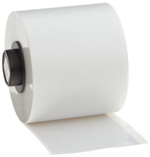 Brady High Adhesion Vinyl Label Tape (142271) - White Vinyl Film - Compatible with BMP71 and HandiMark Industrial Label Printers - 50 Length, 2 Width