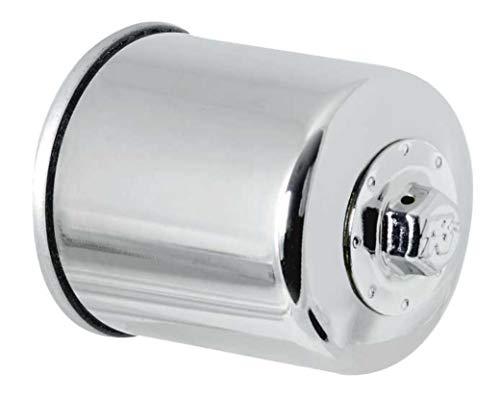 K&N ENGINEERING K&N – Filtro de Aceite de Alto Rendimiento para Motocicleta/Deportes, Cromado, Fitment