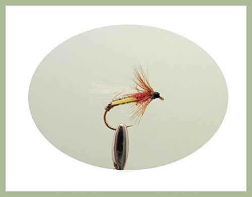 Emerger Trout Fliegen, 6Pack Fasan Schwanz Emergers, Auswahl von Größen, Fly Angeln