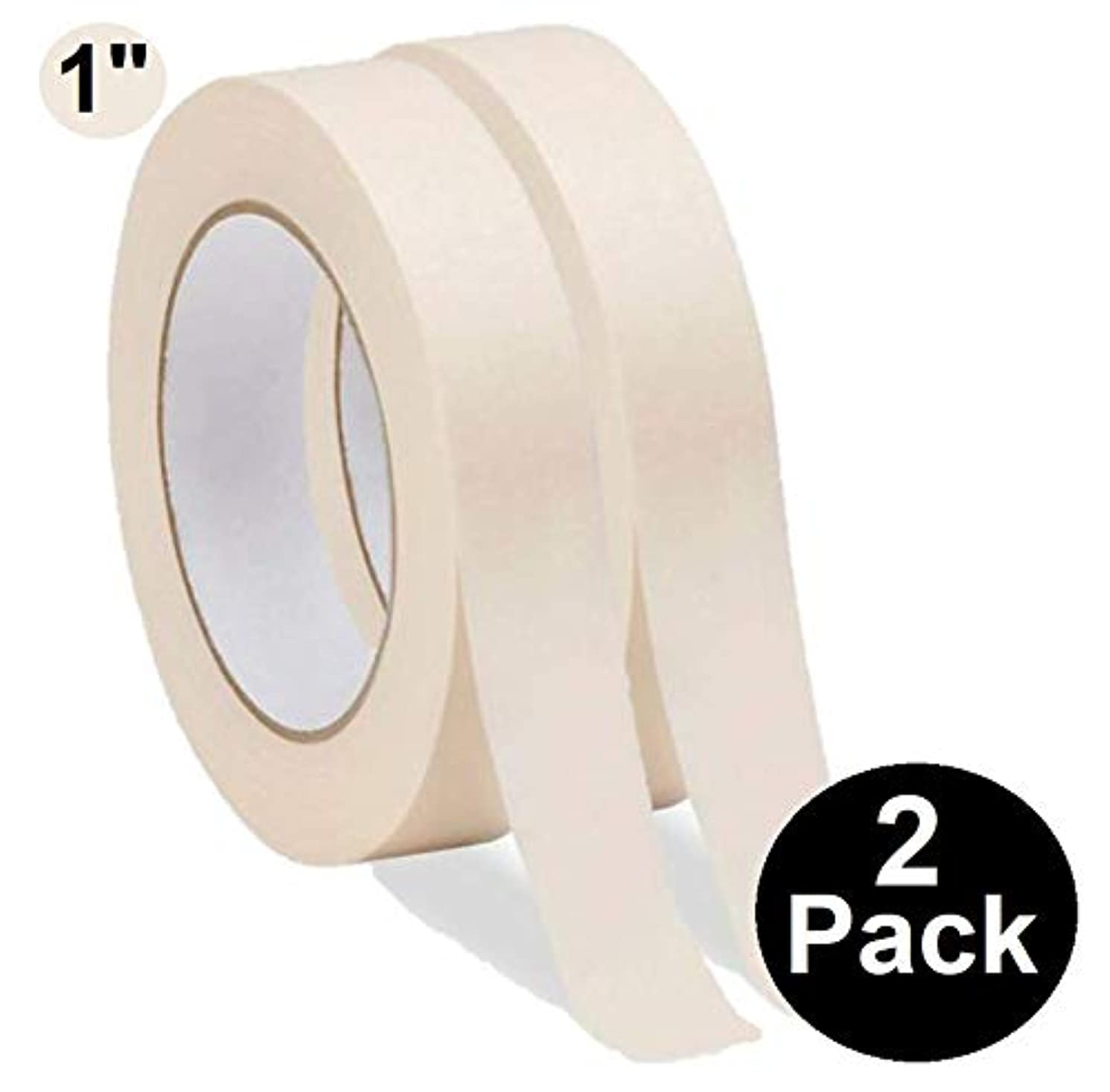 1InTheOffice General Purpose Masking Tape,0.94-Inch by 60.1-Yards, 3