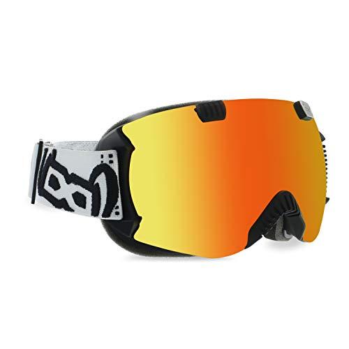 gloryfy unbreakable eyewear Unisex– Erwachsene GP4 Red Multilayer, Rot, Mit jedem Helm kompatibel