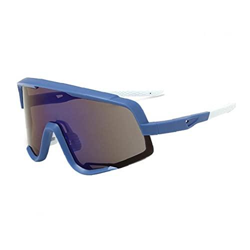 Gafas De Sol Deportivas Polarizadas, Conducción a Prueba De Viento Y Anti-Polvo MTB Gafas De Sol Híbridas para Correr Gafas Deportivas Uv400 Gafas De Gafas Protectoras con Diseño