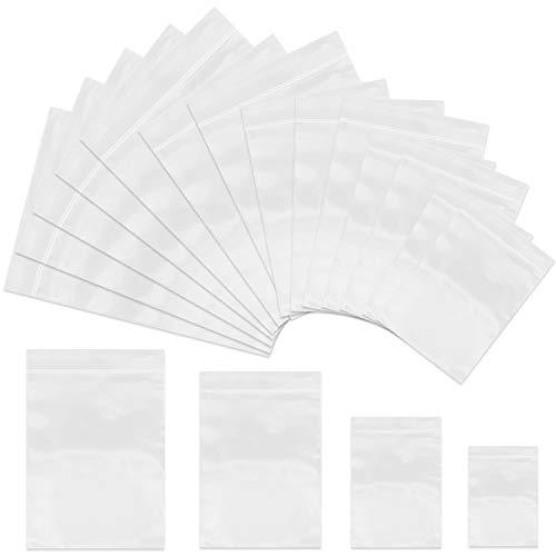 """100 Sacchetti Grip Seal Chiaro Plain Self sigillabili poli in plastica Dimensioni 9/""""x12.75/"""" A4"""