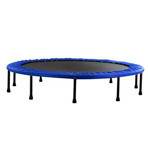 Trampoline Folding Home Fitness 60 inch kinder-springbed, stabiele en stille sportrugplank, fitness kinderen en volwassenen indoor/tuin oefening