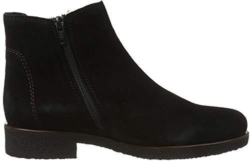 Gabor Shoes Damen Comfort Sport Stiefeletten, Schwarz (Schw(Karo/Blurossoblurosso/Core/Mi 47), 43 EU