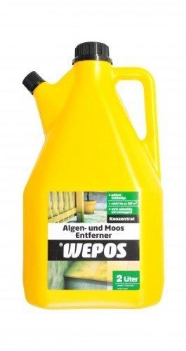 Wepos Algen und Moos Entferner 2Liter Konzentrat