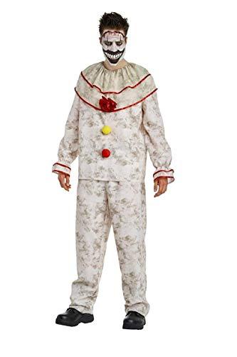 American Horror Story Men's Twisty The Clown Costume - L