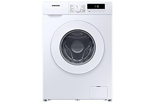 Samsung WW70T304PWW/EG Waschmaschine, 7 kg, EEK: D, 1400 U/min, SLIM Platzsparer - Nur 44 cm tief, Digital Inverter Motor, Trommelreinigung, Aquastop, Geräuschklasse B