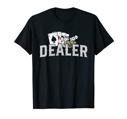 Disfraz de crupier de pker I Crupier de casino I Pker Camiseta