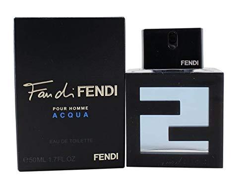 Fendi Fan Di Pour Homme Eau de Toilette Spray for Men, 1.7 Ounce