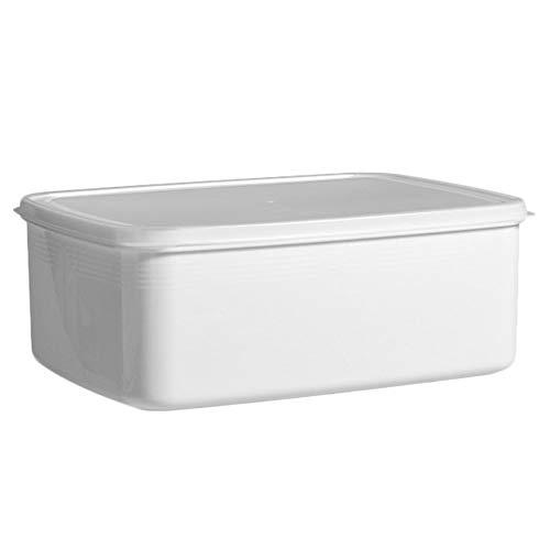 Cabilock Contenedor de almacenamiento de alimentos para frigorífico, ahorro para frigorífico, organizador de cajones para verduras, bayas, frutas y verduras, 3 litros