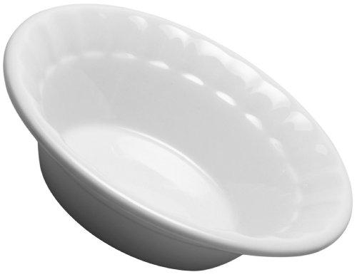 HIC Teller 5-Inch Fine White Porcelain