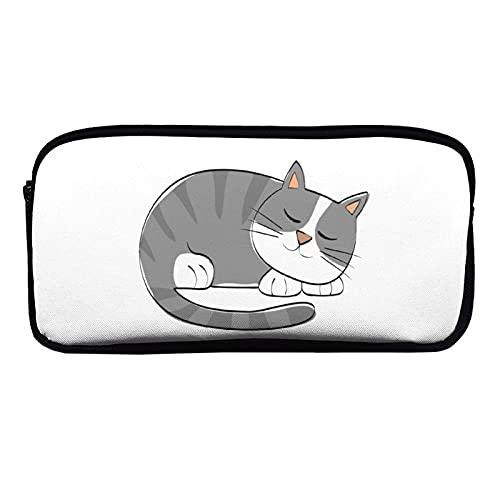 Moden Stationery Box Potlood Case YHO Design Manga Cute Animal Cat Elf111, Potlood case voor school, Potlood case voor…