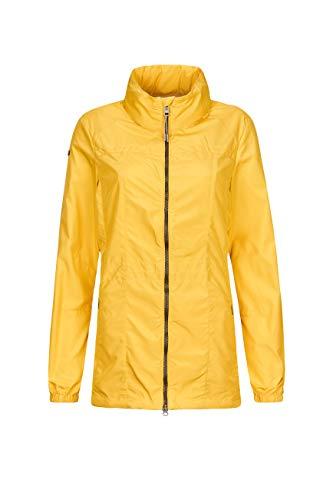 G.I.G.A. DX Erenka kurtka damska - przejściowa kurtka z chowanym kapturem - lekka kurtka damska, jasnożółta, 44