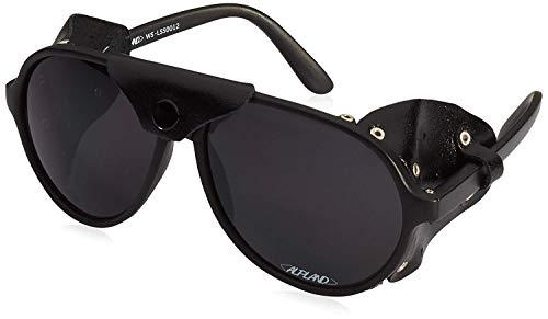 Alpland Gafas de Montaña Lentes de Glaciar, Bergsteigerbrille, Kletterbrille Gafas Protectoras con Filtro, Cat.4 !